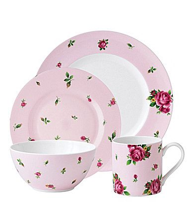 Royal Albert New Country Roses Pink Modern Casual Dinnerware  sc 1 st  Pinterest : modern casual dinnerware - pezcame.com