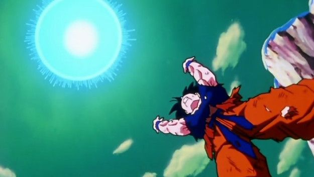 Waiting like a damn MONTH for Goku to launch that spirit bomb on Namek...