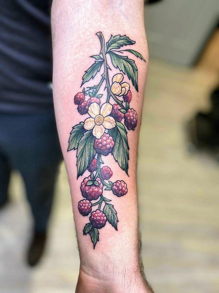 Fresh raspberries from kelsey havel greenlion studio grand