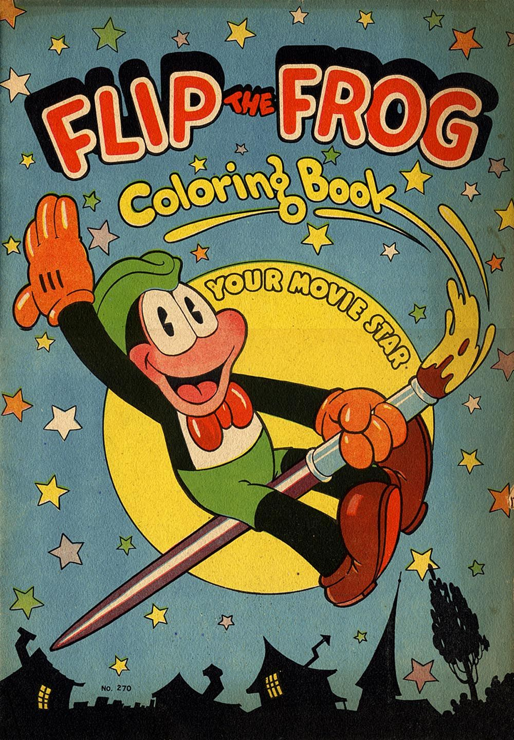 Flip The Frog Coloring Flip Was Created By Ub Iwerks The Co