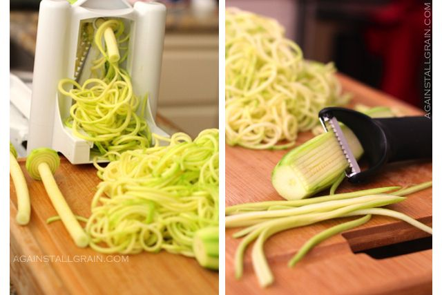 Zucchini Noodle Tutorial