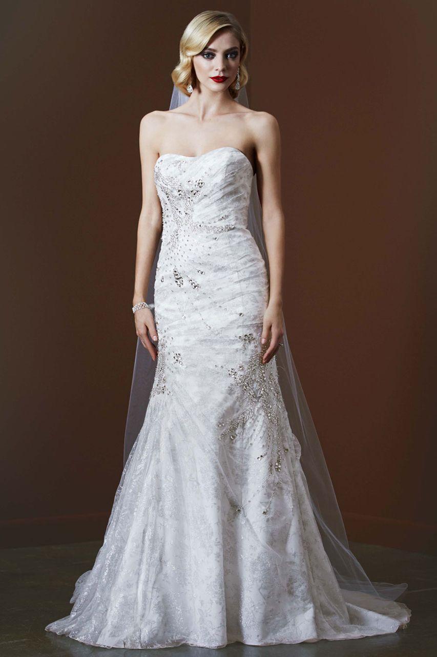 Galina signature wedding dress  Galina Signature gown available exclusively at Davidus Bridal