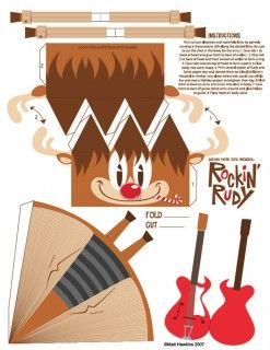 Blog_Paper_Toy_papertoy_Rockin_Rudy_template_preview