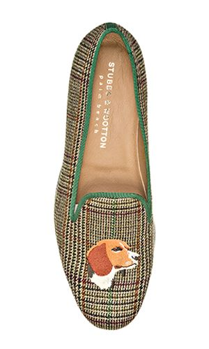Beagle Tweed Classic Slippers By Stubbs Wootton Fall 2013