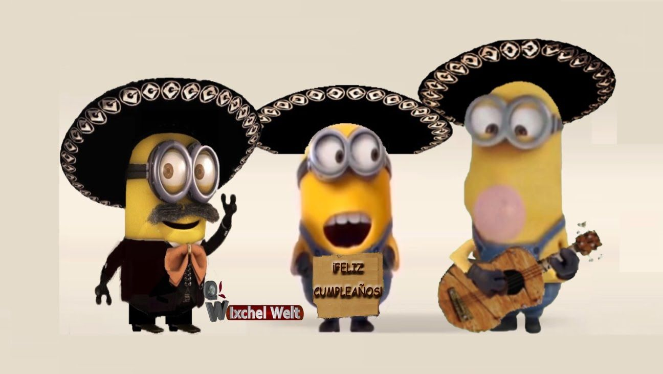 Las Mañanitas Minions Español Happy Birthday Minions Happy Birthday Funny Happy Birthday Brother Funny
