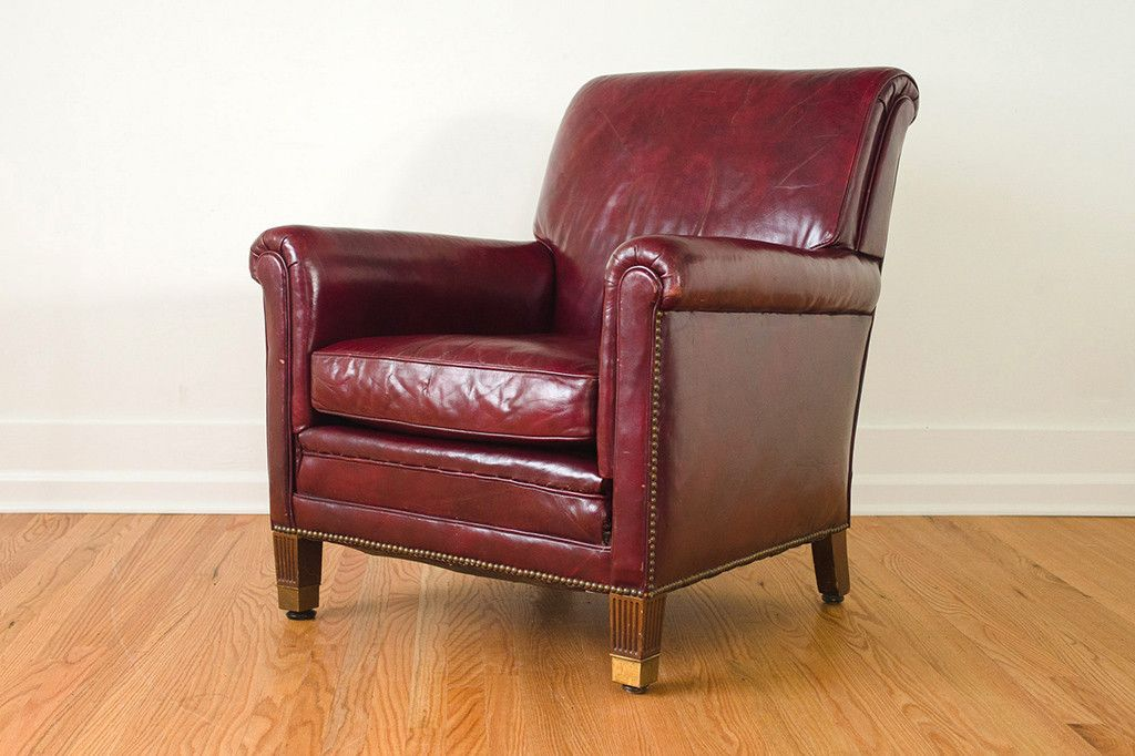 Fabulous Burgundy Leather Club Chair Leather Club Chairs Leather Machost Co Dining Chair Design Ideas Machostcouk