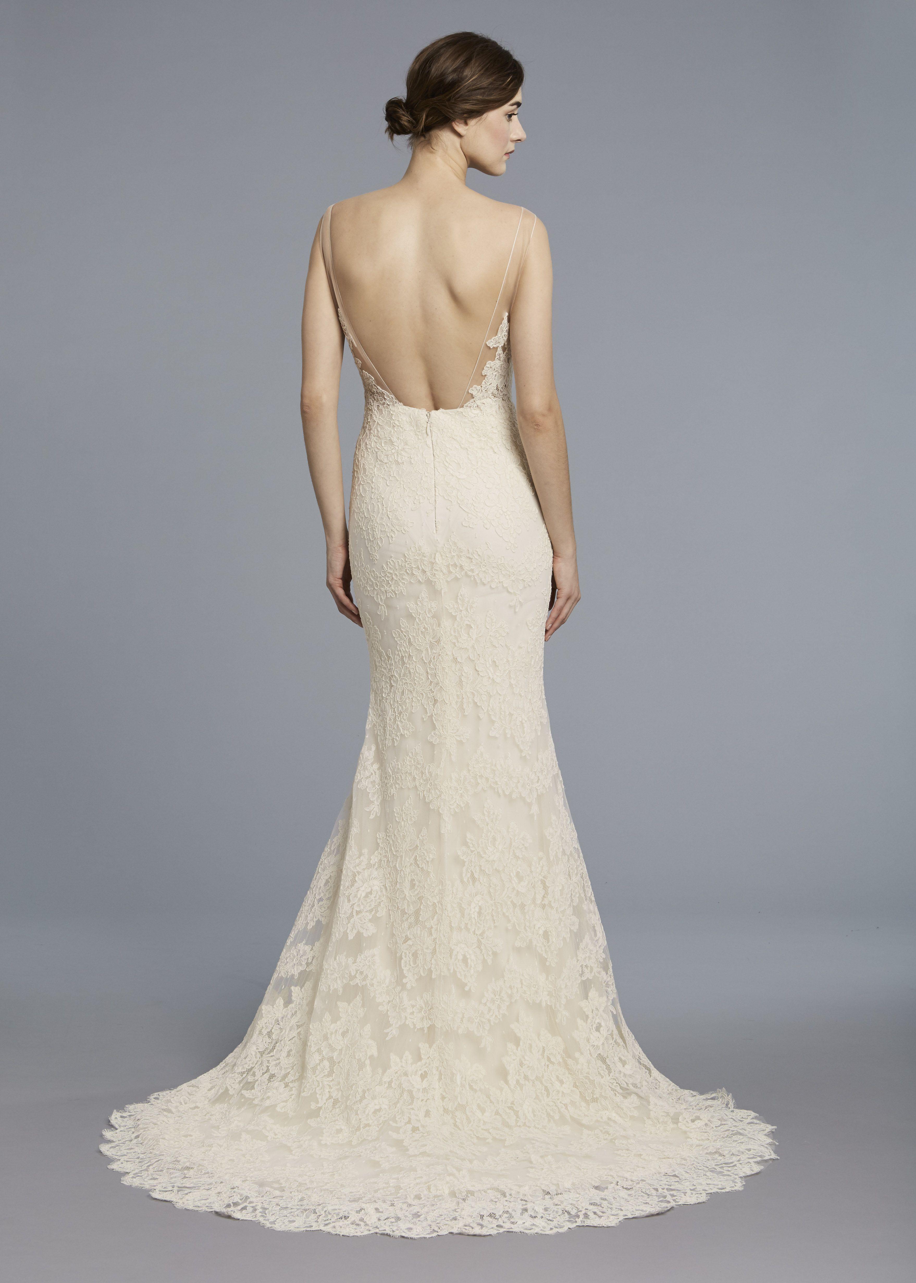 spring 2018 chiffon wedding dresses
