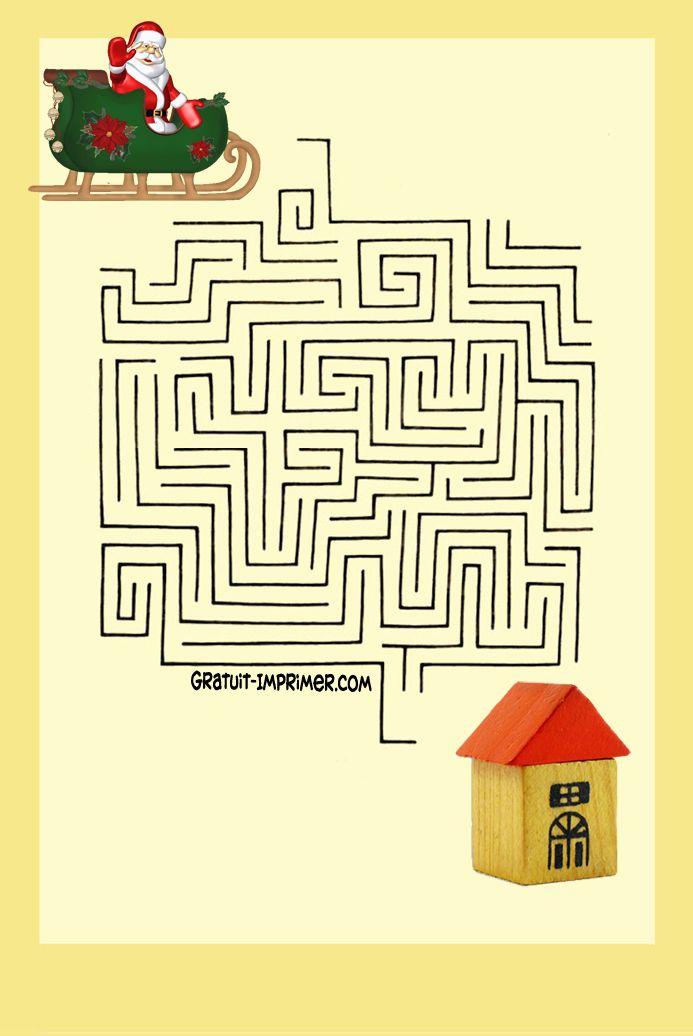 cliquez sur l u0026 39 image pour t u00e9l u00e9charger ce jeu en version imprimable   jeu de labyrinthe gratuit a