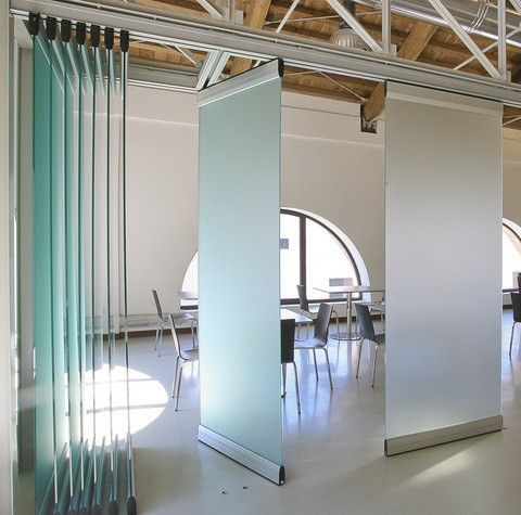 Modernglide Movable Acoustic Walls Sliding Folding Partitions Glass Partition Wall Movable Walls Glass Partition