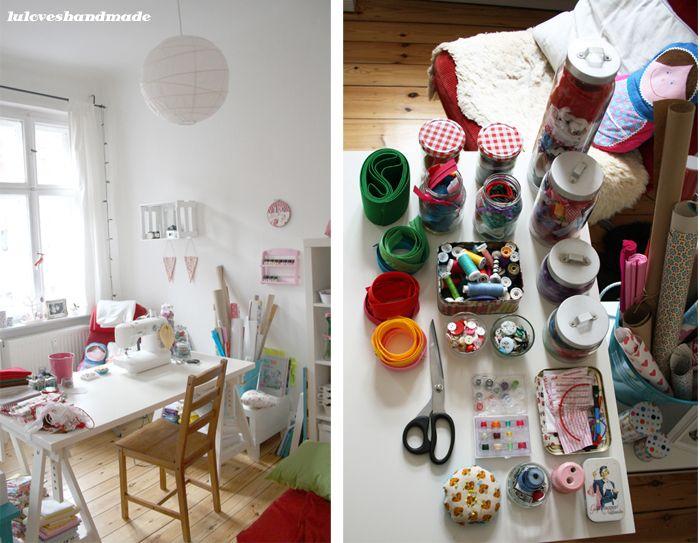 How I store my raw materials // Craft room inspiration #luloveshandmade