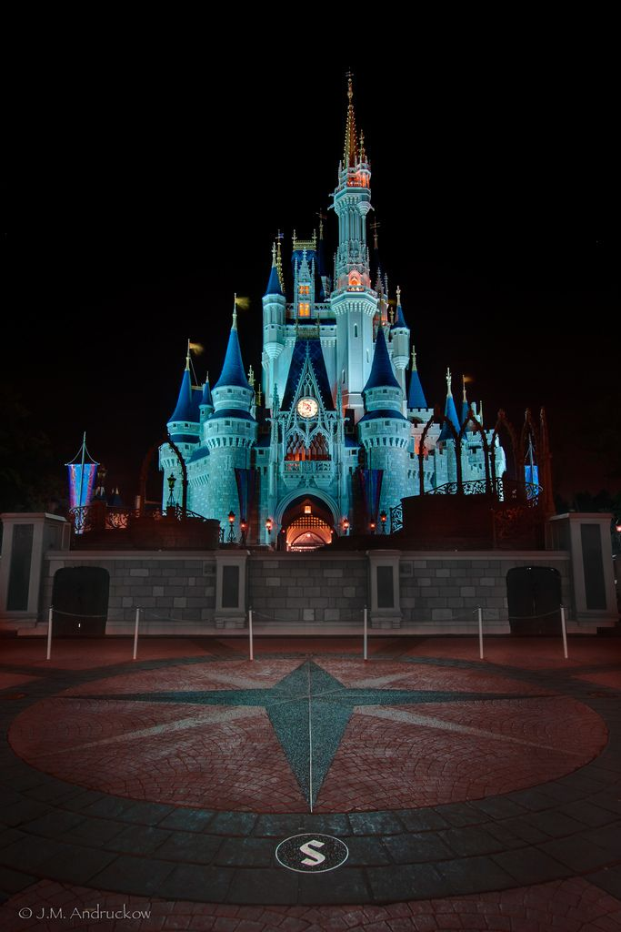Castle Glow by -Jamian-