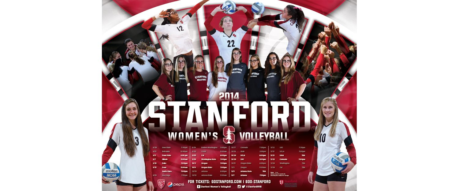 Coming In Number 1 Was The Women S Volleyball Team At Stanford University Women Volleyball Stanford Volleyball Volleyball Team