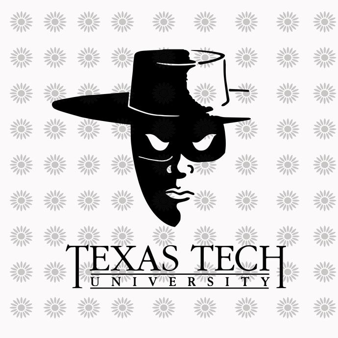 Texas Tech Red Raiders SVG,College Football Logo Svg