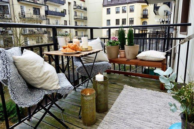 Inspíración Balcones De Invierno Con Encanto Balcón Al