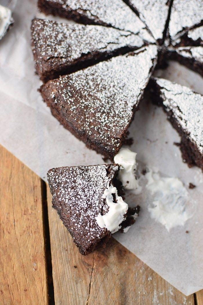 Schokoladenkuchen Mit Mandeln Saftig Und Glutenfrei Rezept Schokokuchen Schoko Mandel Kuchen Und Schokoladenkuchen