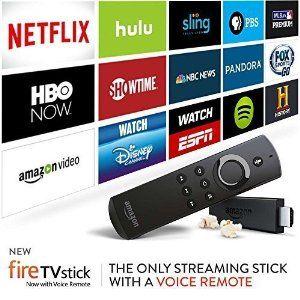 Fire TV Stick with Voice Remote Amazon fire tv stick
