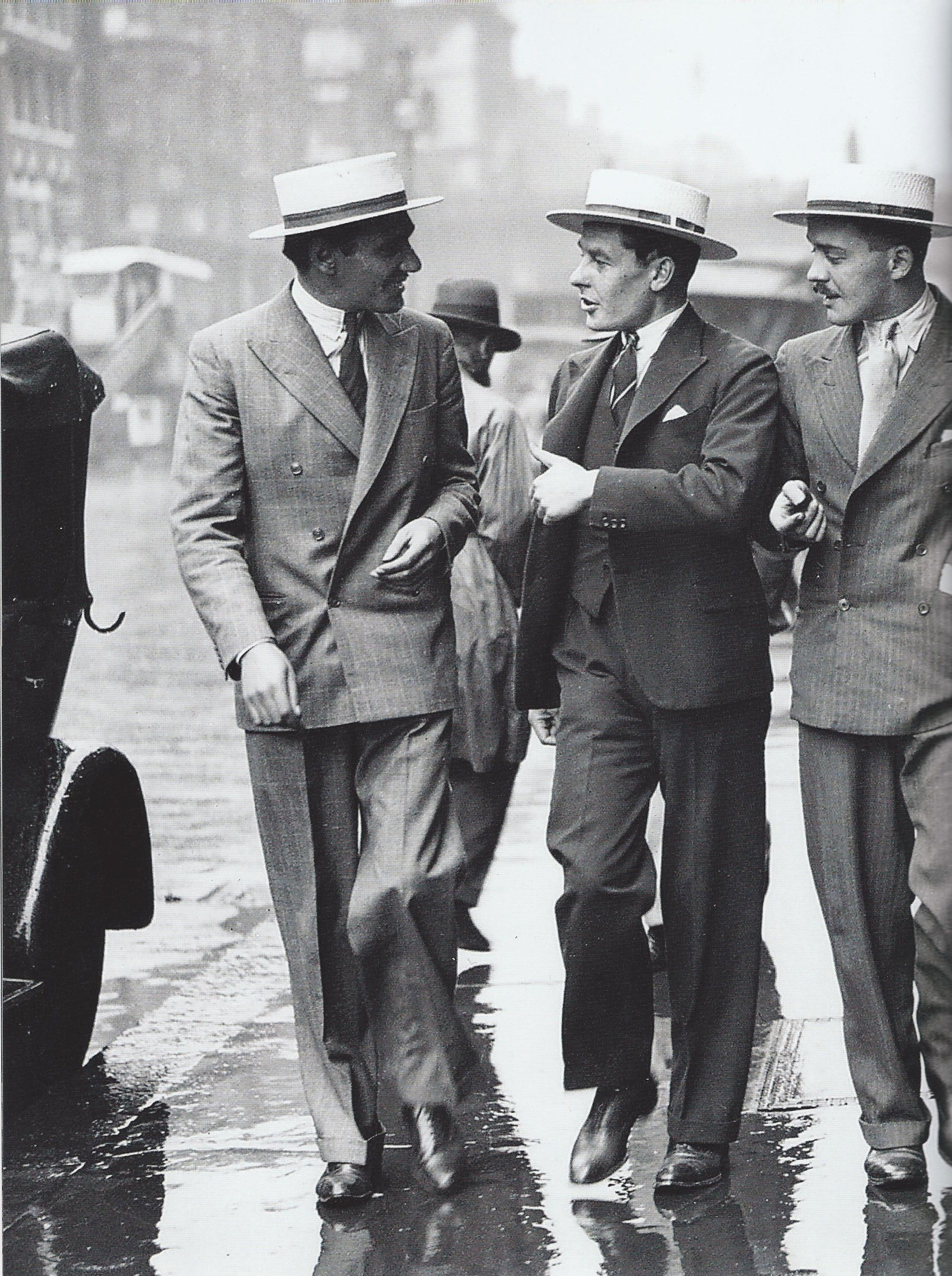 Some More Dapper Dressers From A 20s Line Up 1920er Manner