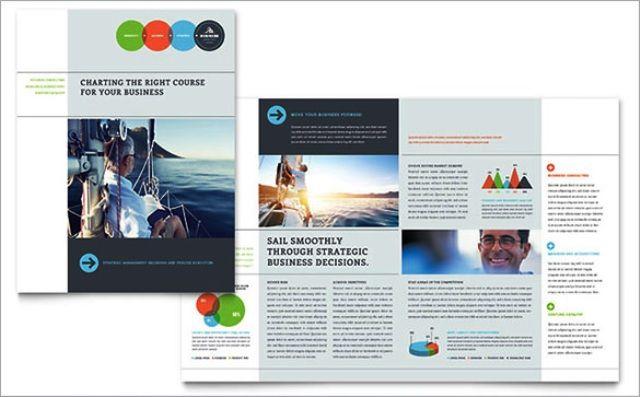Brosur perusahaan untuk company profile Brochure \ Pamphlet - brochure word templates