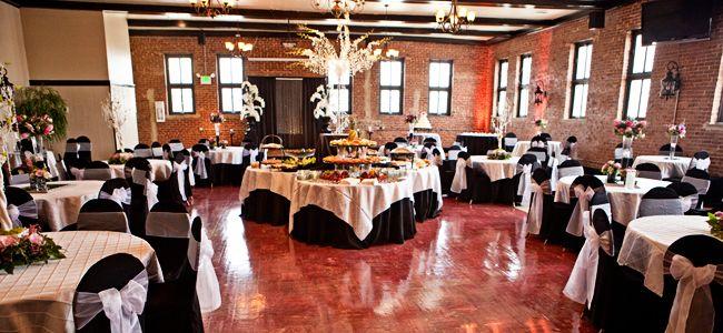 Birmingham Alabama Event Space Woodrow Hall Wedding Reception Hall Wedding Banquet Hall Modern Wedding Reception