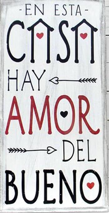 En Esta Casa Hay Amor Del Bueno Punto De Cruz Cuadros Vintage
