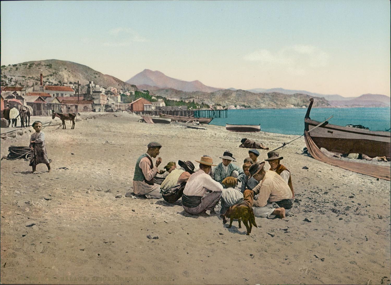 Málaga. Pescadores La Comida.    #Europe #Espagne_Espana