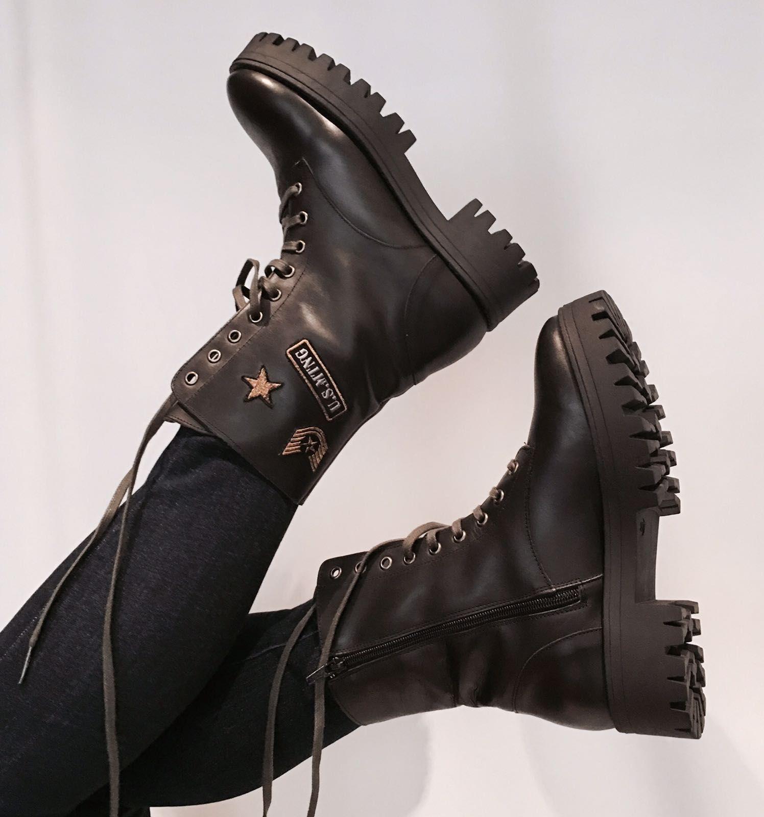 Botas MUSTANG military | Zapatos, Botas y Estilo militar
