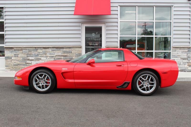 2003 Corvette Coupe For Sale In New York 2003 Z06 4 New Michelin Super Sports Corvette Corvette For Sale Used Corvette