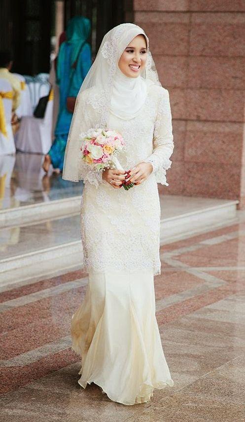 074002a57 فساتين زفاف للمحجبات   زفاف مسلمة   Wedding dresses, Muslim wedding ...