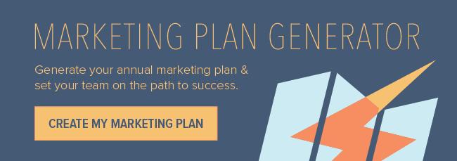 Marketing Plan Template Generator  Marketing Resources