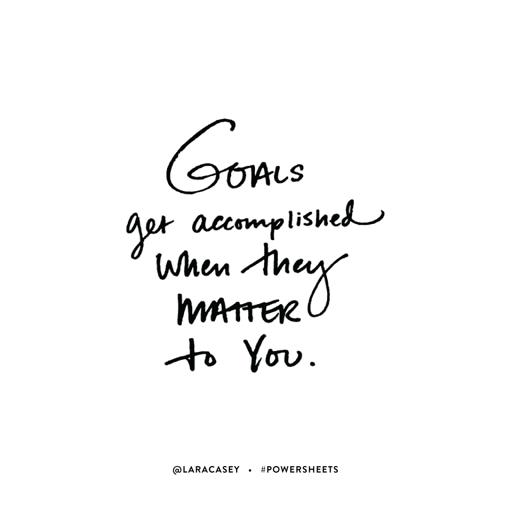 Motivational Quotes For College Students Goals Get Accomplished When They Matter To You Motivational