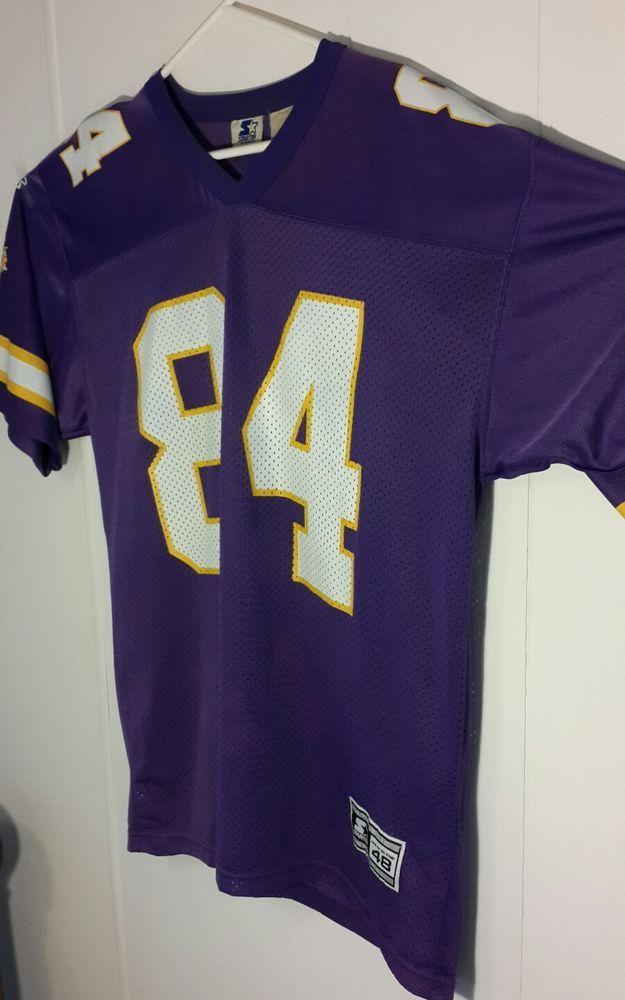 newest 0f8ff 3f694 Minnesota Vikings Football Jersey sz 48 L Randy Moss #48 ...