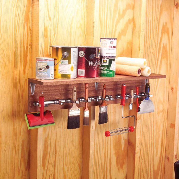 29 painting tool hacks that ll get your projects rolling on attractive garage storages ideas to organize your garage get these few tips id=87718