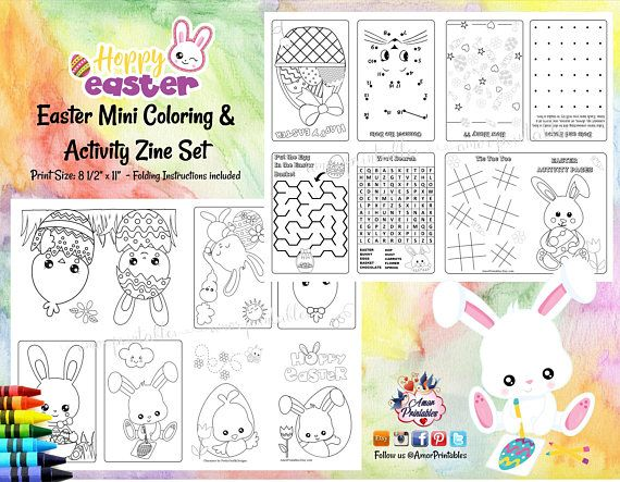 Easter Coloring Easter Activity Sheet Easter Coloring