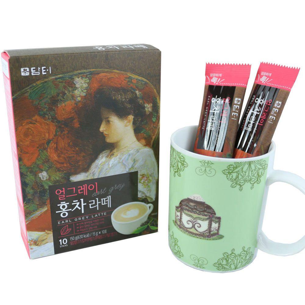 Details About DAMTUH Korean Earl Grey Black Tea Latte