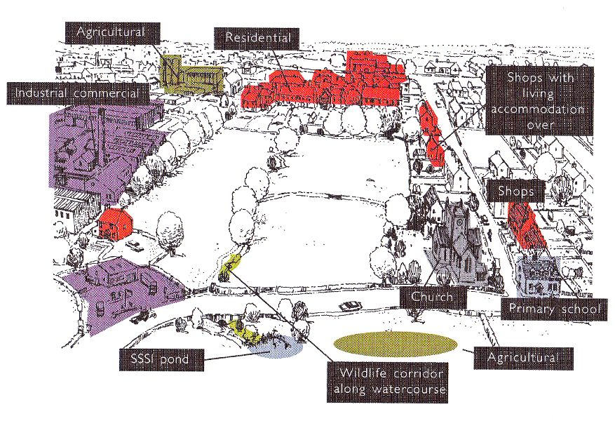 Site Context Diagram From  Leeds City Council Department Of Planning  1995  Site Development