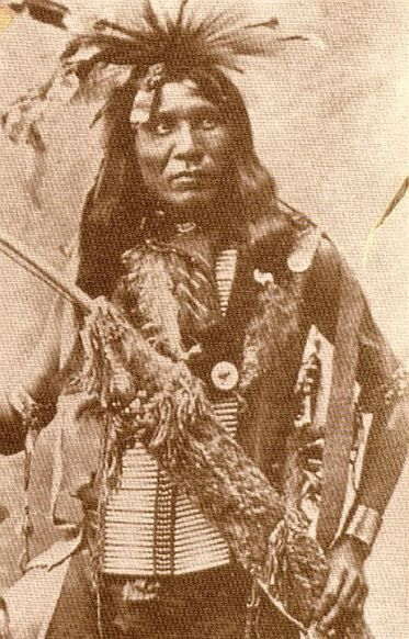 Pretty Eyes - Northern Cheyenne - circa 1880::