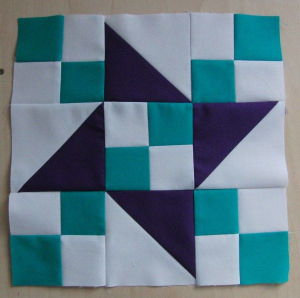 Traditional Patchwork Quilt Pattern And Tutorial Part 7