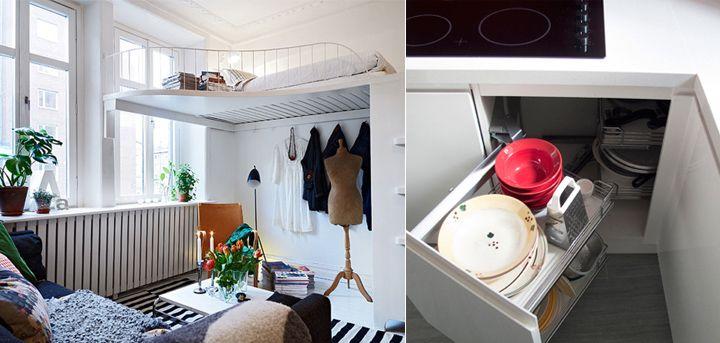 Ideas para decorar apartamentos peque os espacios for Ideas para espacios pequenos