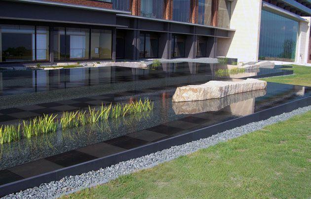 water feature design hotel - google