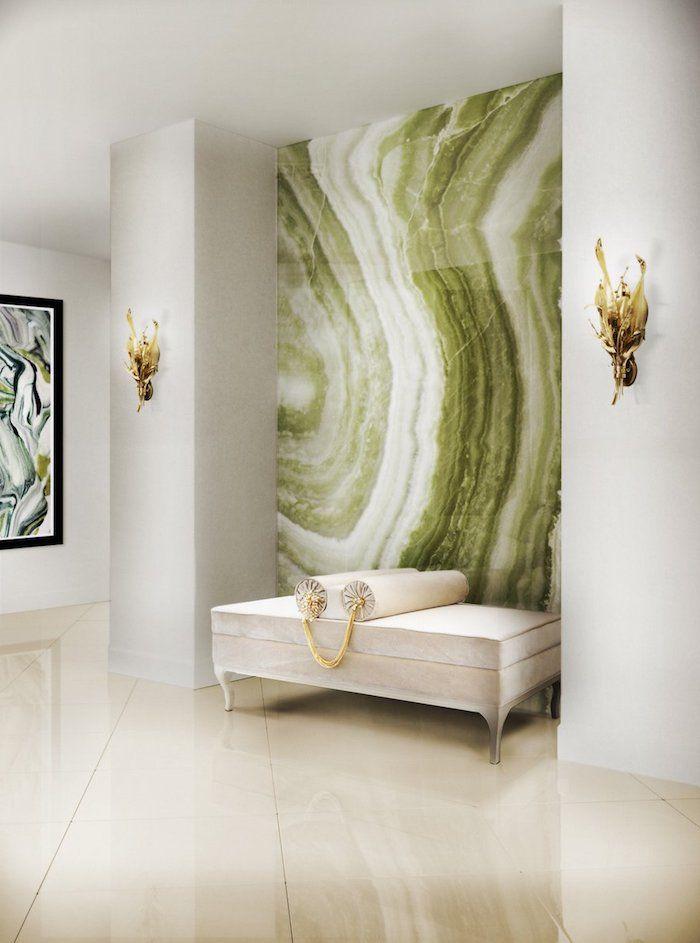 ▷ 1001 + Ideen Für Wohnzimmer Wandfarbe 2018 | Pinterest | Grüne Gemälde,  Wandfarbe Und Wandlampe Weiß