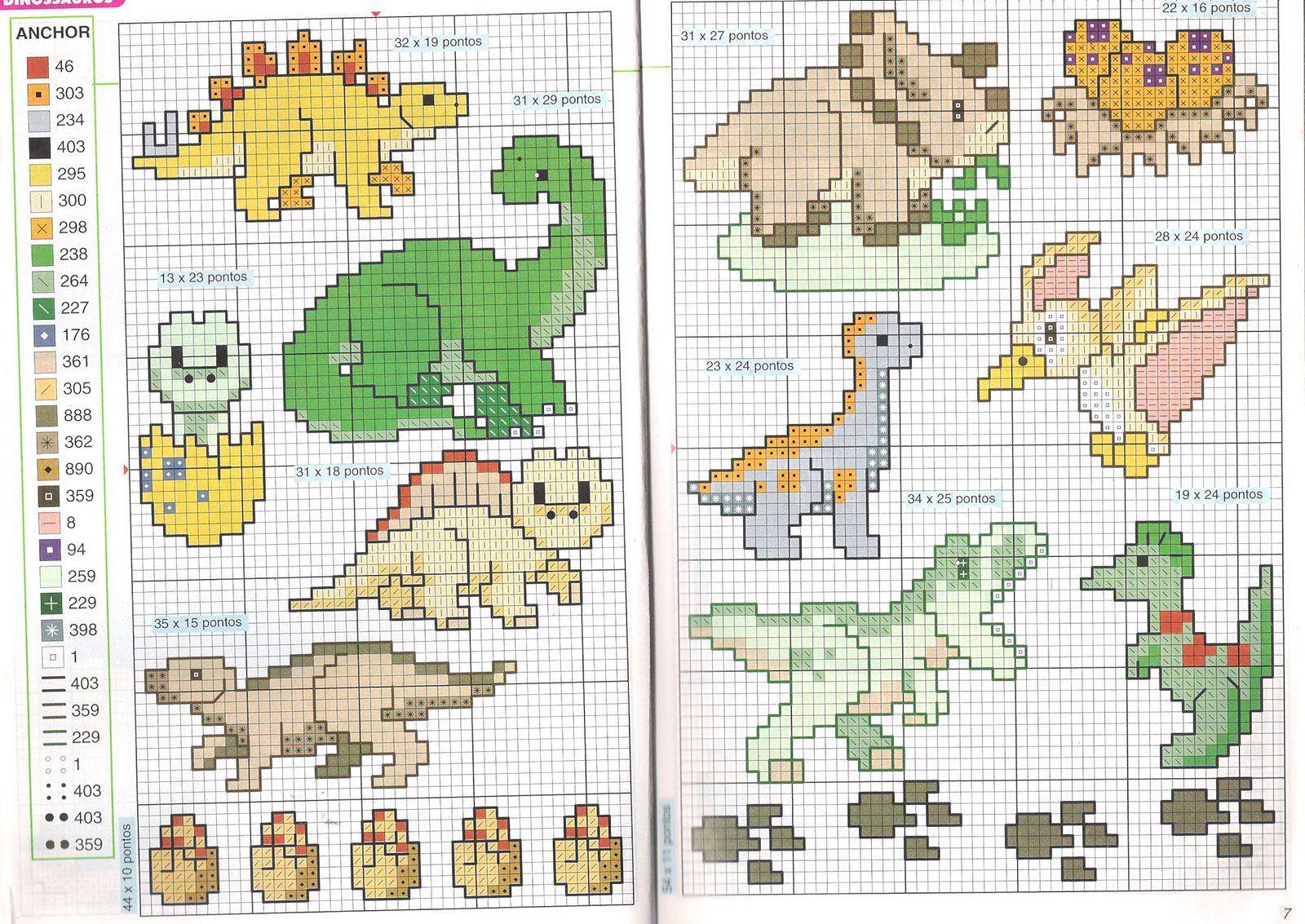 wzory koralikowe | Kreuzstich Baby | Pinterest | Cross Stitch ...