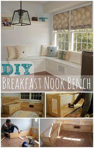 Breakfast Nook Bench Ocean Front Shack Ana White Plan