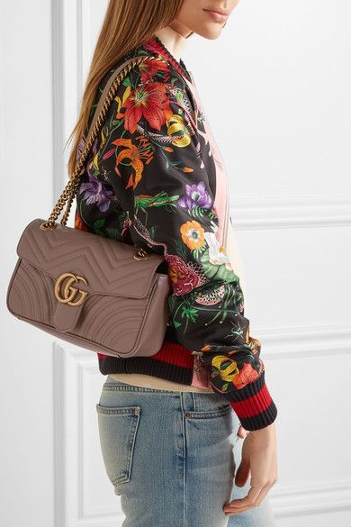 a51e078247a0 Gucci - Gg Marmont 2.0 Small Quilted Leather Shoulder Bag - Sand - one size