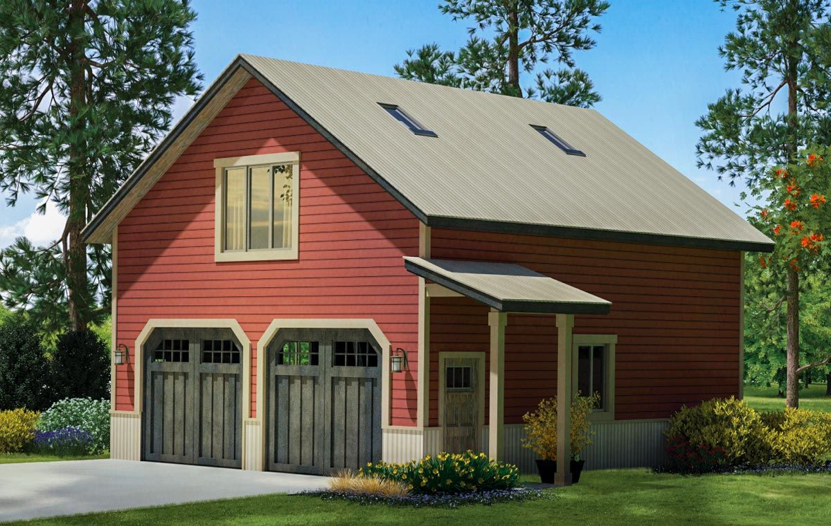 Plan 72822da 2 Car Country Style Garage With Rec Room In 2021 Garage Plans With Loft Country Style House Plans Garage Apartment Plans