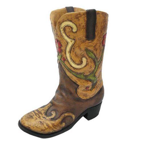 0958817fbd3 LOWES.COM Cowboy Boot Planter | My backyard | Cowboy boots, Planters ...