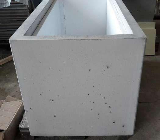Inne rodzaje Duże donice betonowe 140x70x70 - Beton architektoniczny Białystok NG95