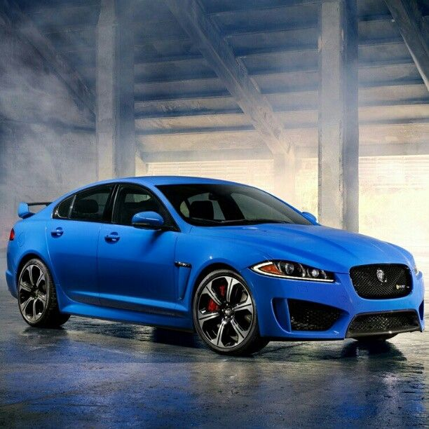 Jaguar Auto: New Baby Blue Jaguar XR-F