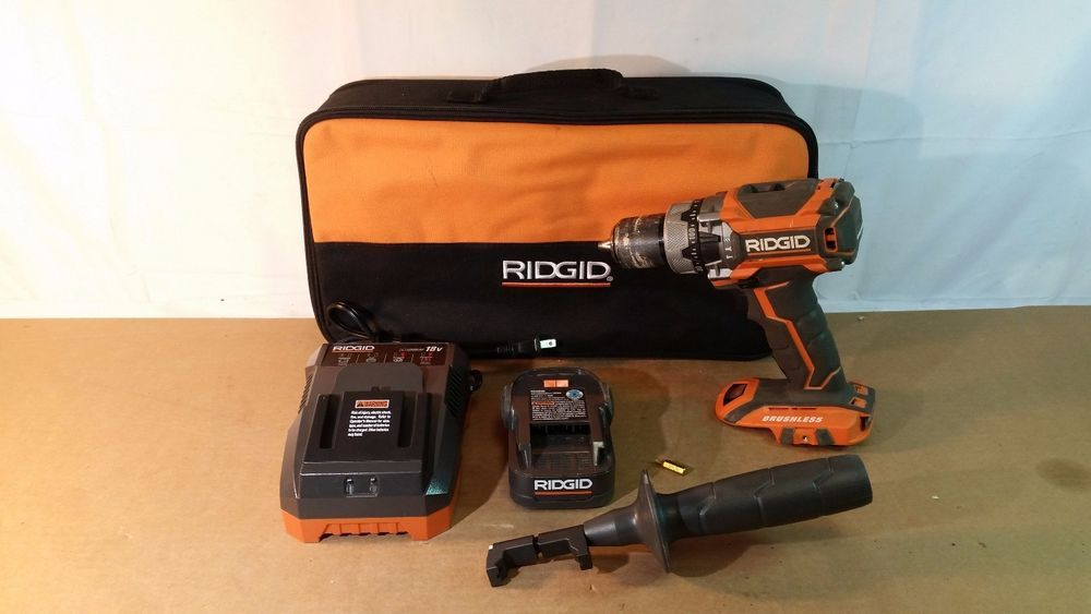 Rigid R86116 18v 1 2in Brushless Lithium Compact Hammer Drill