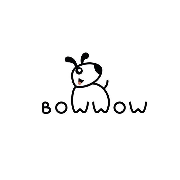 A Logo I Created For A Pet Store In Usa Bow Wow Logo