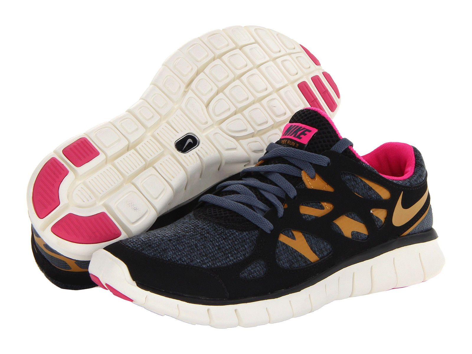 a600a2284dd44 NEW!!~WOMENS NIKE FREE RUN 2 EXT TRAINER RUNNING SHOES~RARE COLOR ...
